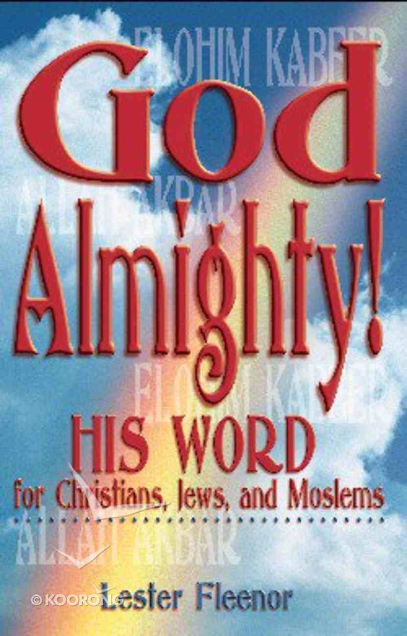God Almighty! Paperback