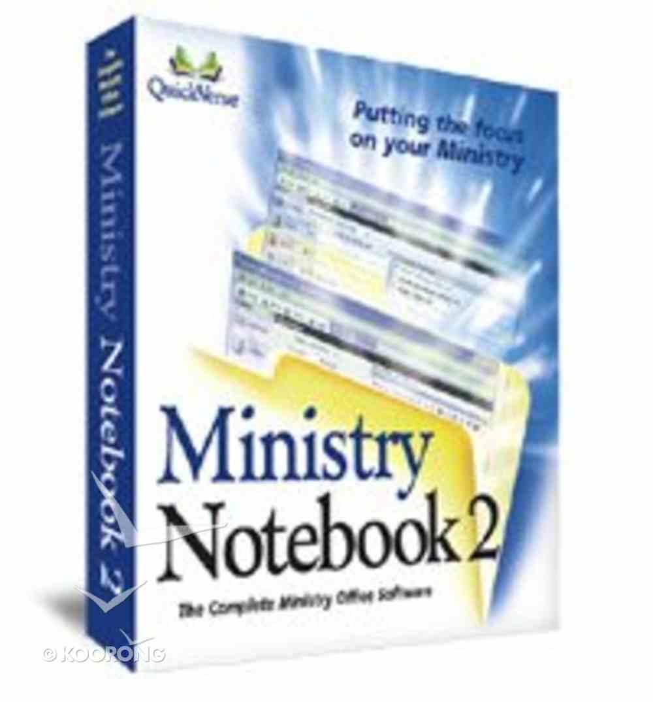 Ministry Notebook 2 Win CDROM CD-rom