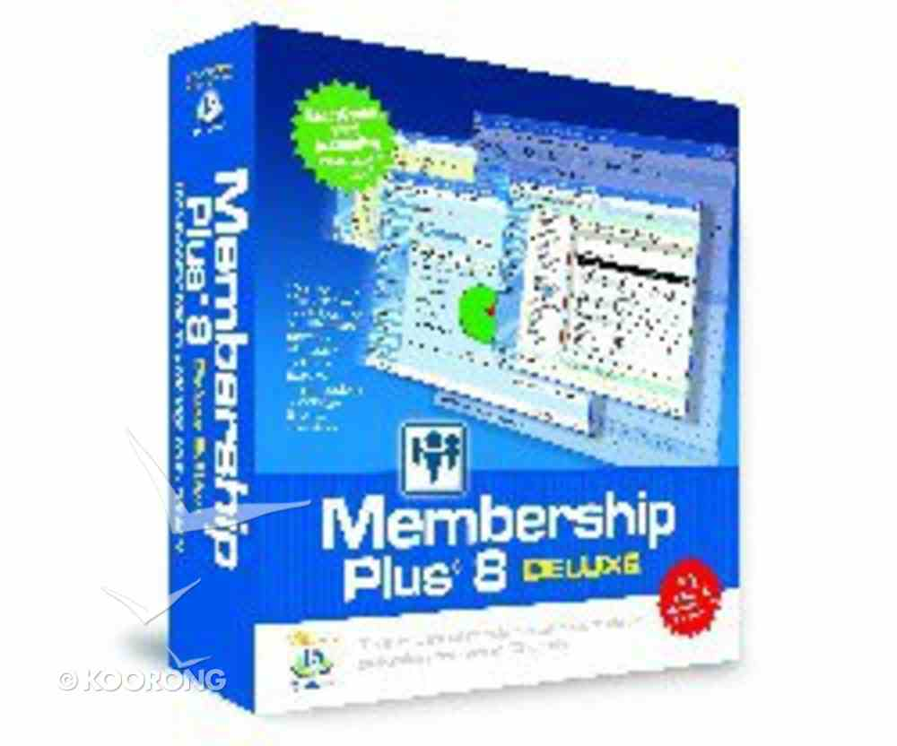 Membership Plus 8.0 Deluxe Edition CD-rom
