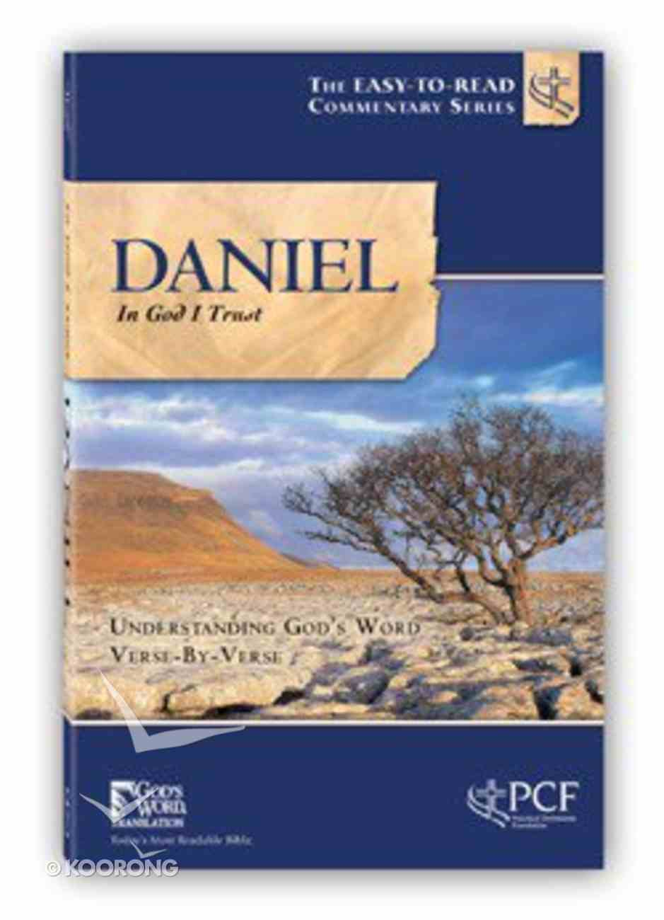 Daniel (In God I Trust) (Easy To Read Devotional Commentary Series) Paperback