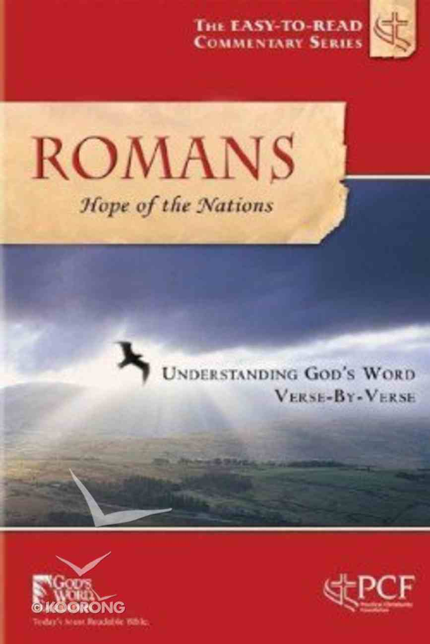 Romans (Hope For the Nation) (Easy To Read Devotional Commentary Series) Paperback