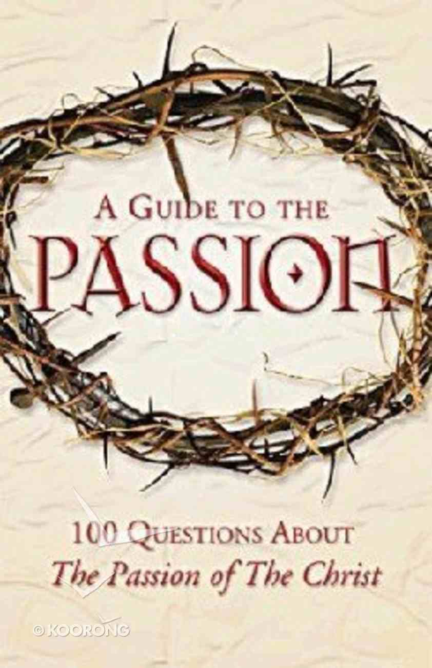 Catholic's Guide to the Passion Paperback