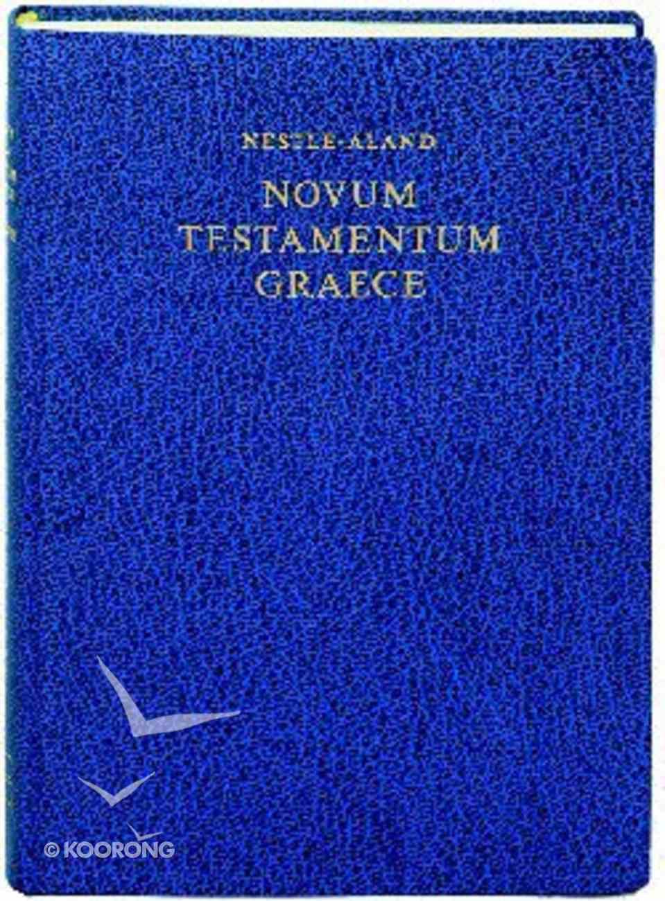 Greek New Testament Nestle-Aland 27Th Edition Blue Hardback