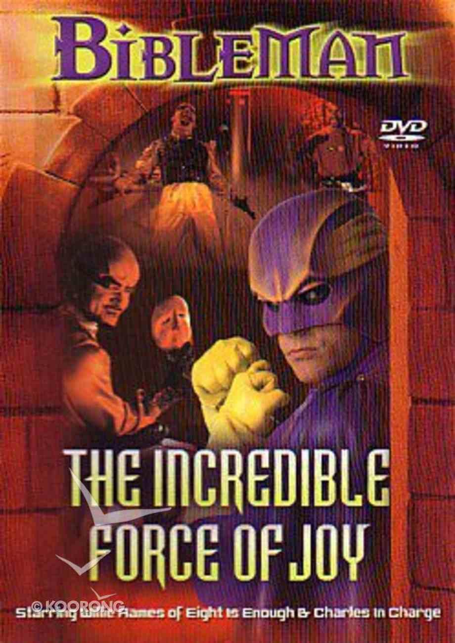The Bibleman: Incredible Force of Joy (Bibleman Show Series) DVD