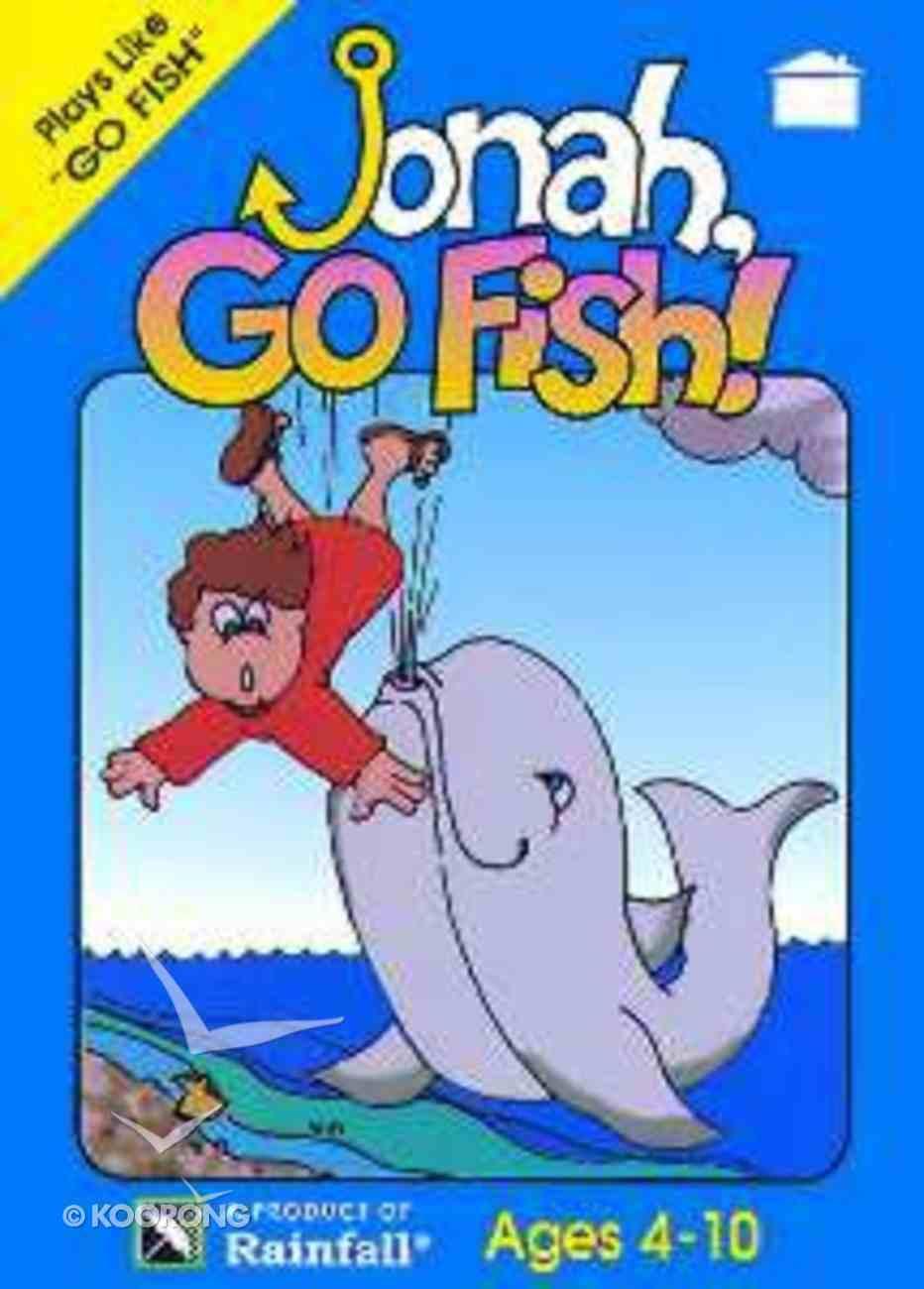 Jonah Go Fish Jumbo Card Game Game