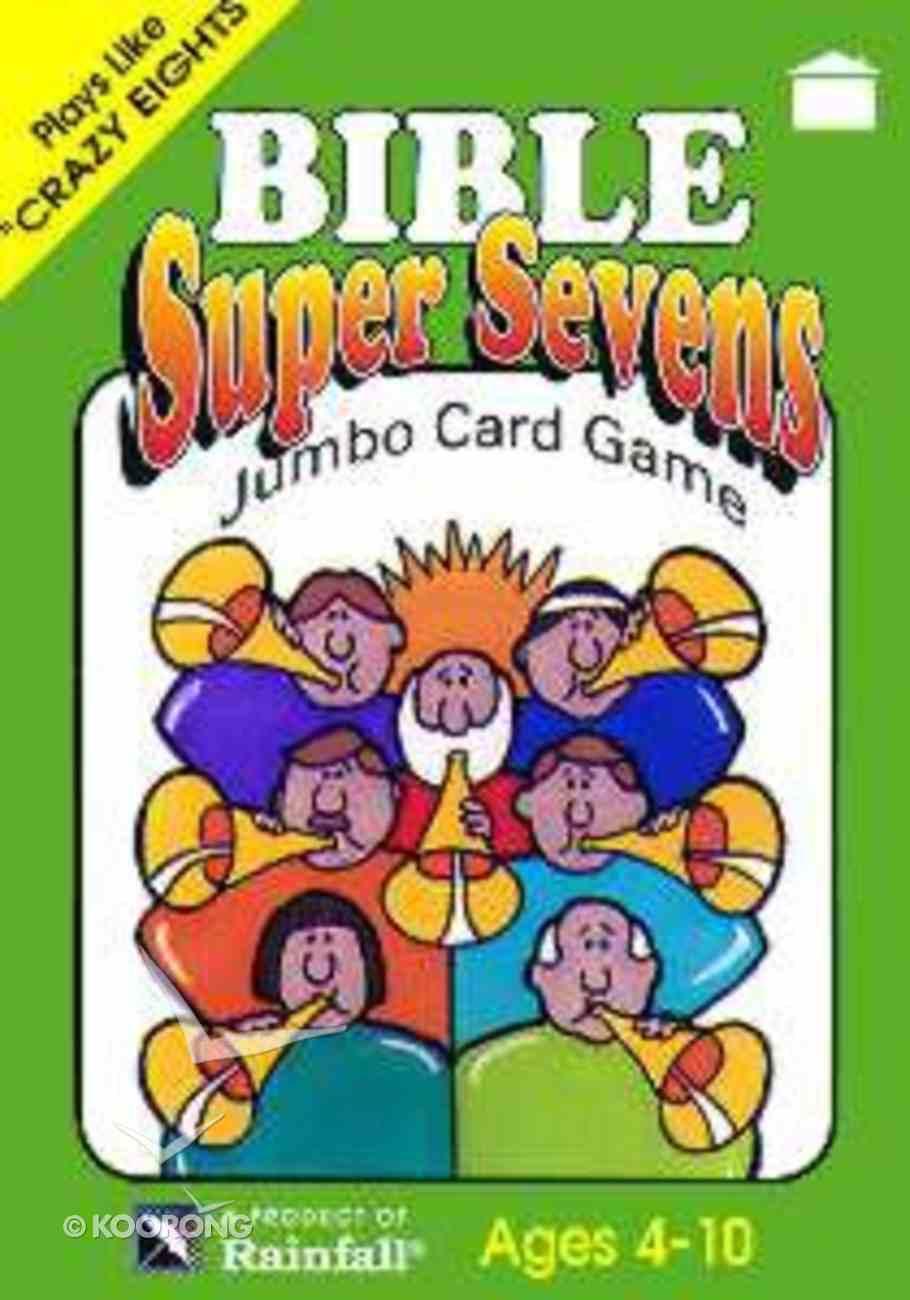 Jumbo Card Games: Bible Super Sevens Game