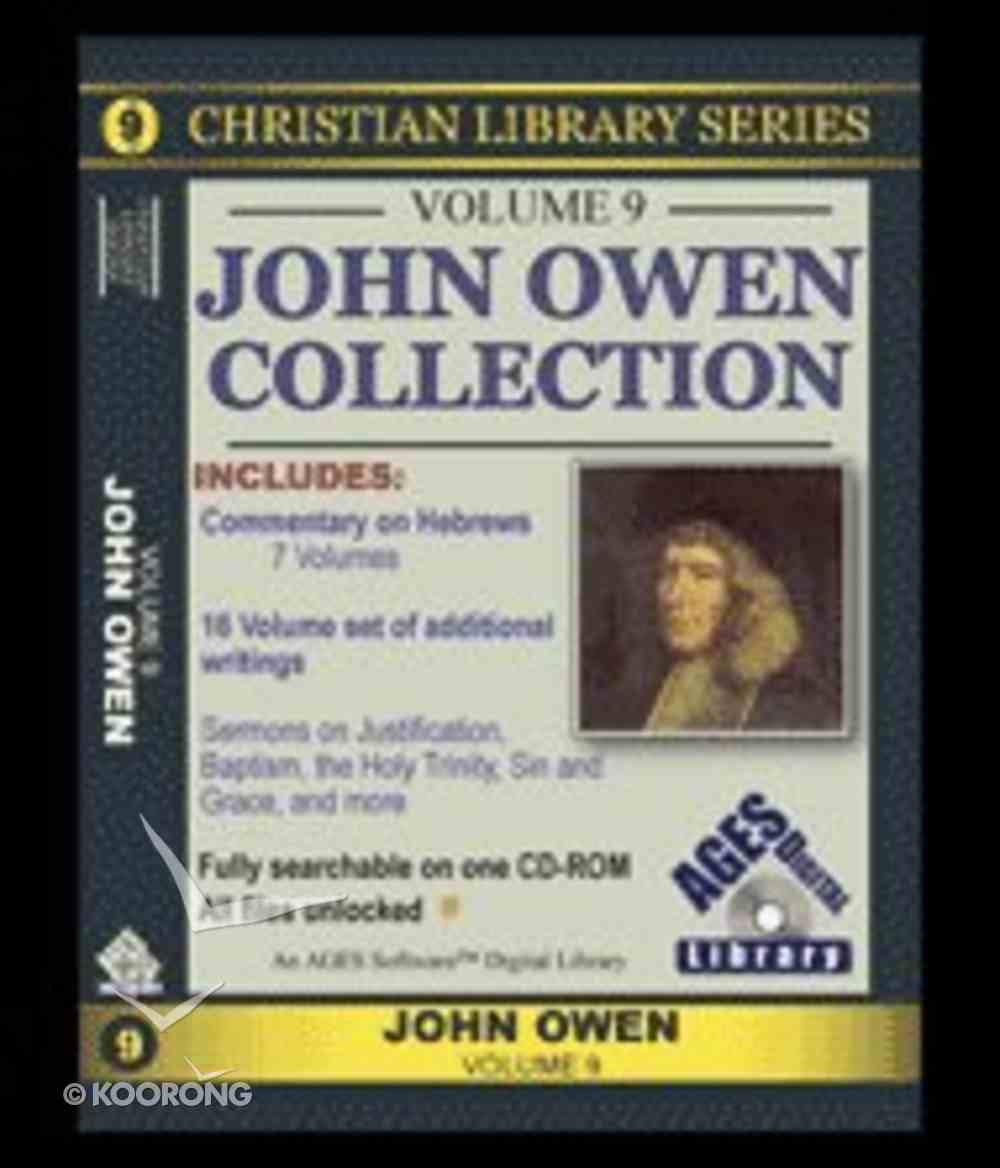 Cls Ages Volume 9 John Owen Collection CDROM CD-rom