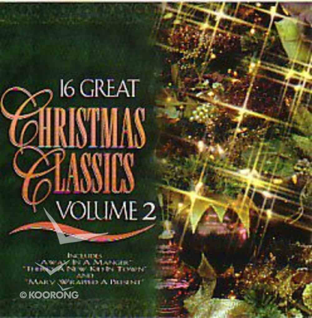 16 Great Christmas Classics (Volume 2) CD