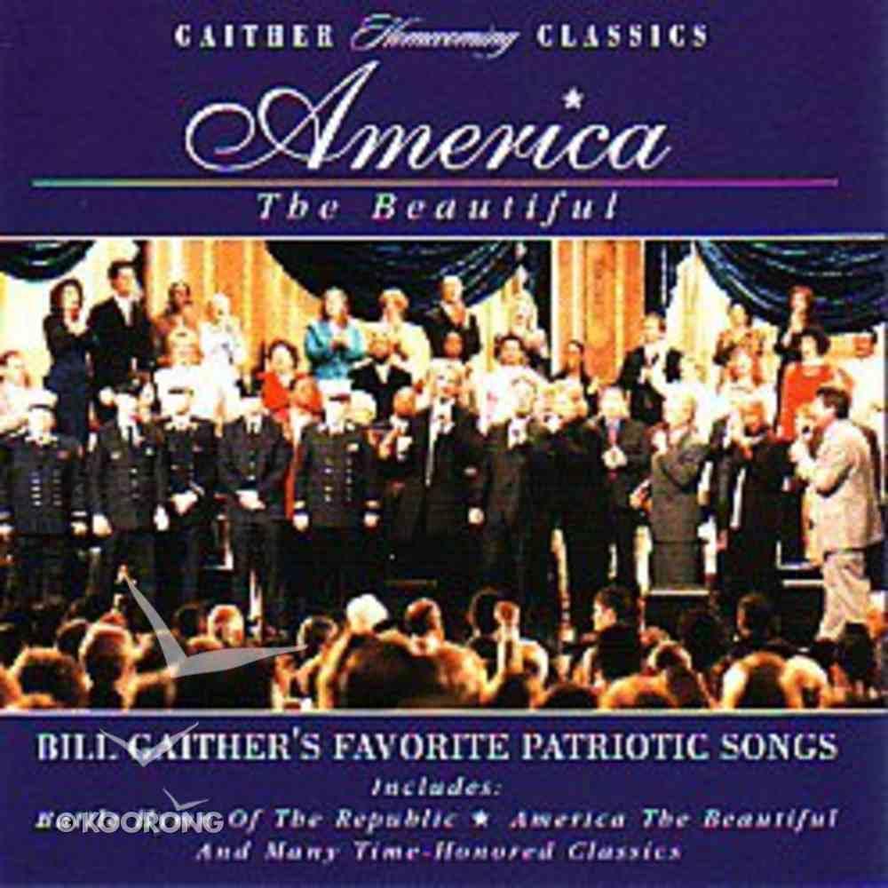 America the Beautiful CD
