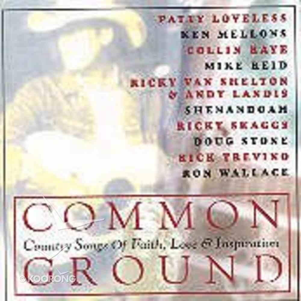 Common Ground CD