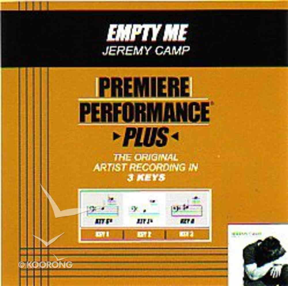 Empty Me (Accompaniment) CD