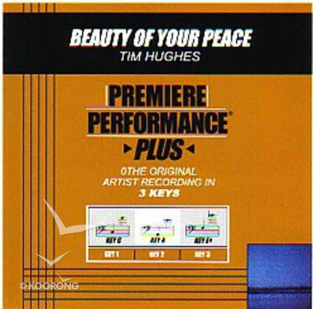 Beauty of Your Peace (Accompaniment) CD