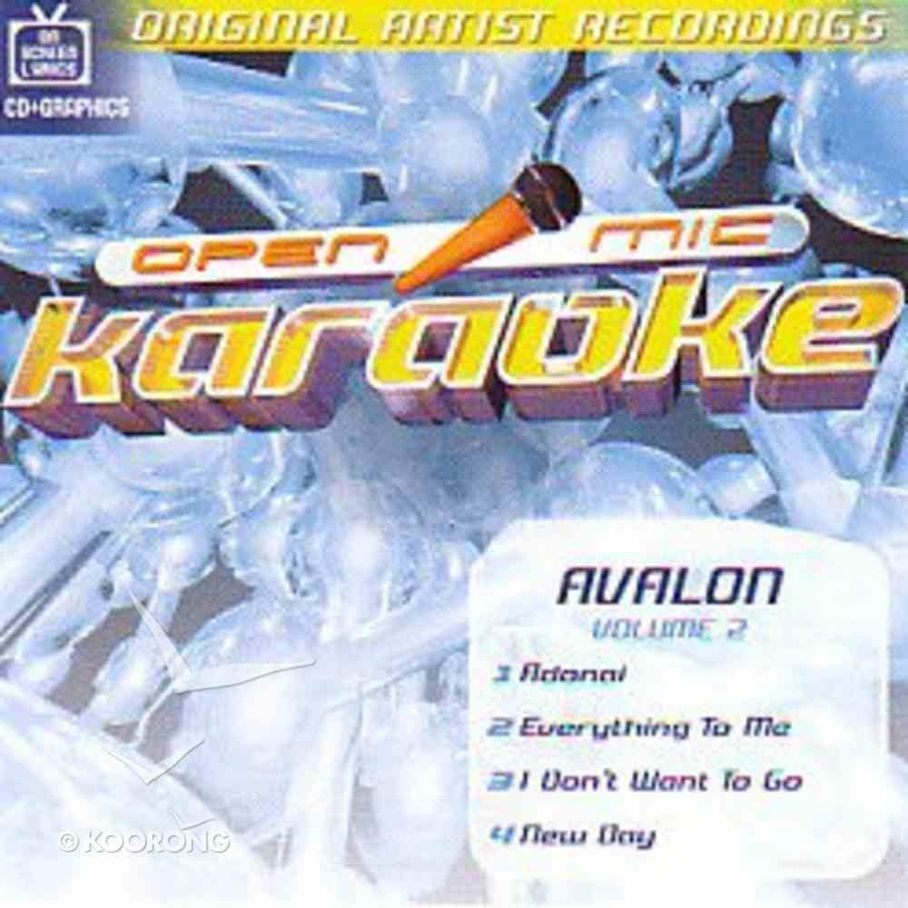 Karaoke Avalon (Accompaniment) (Vol 2) CD