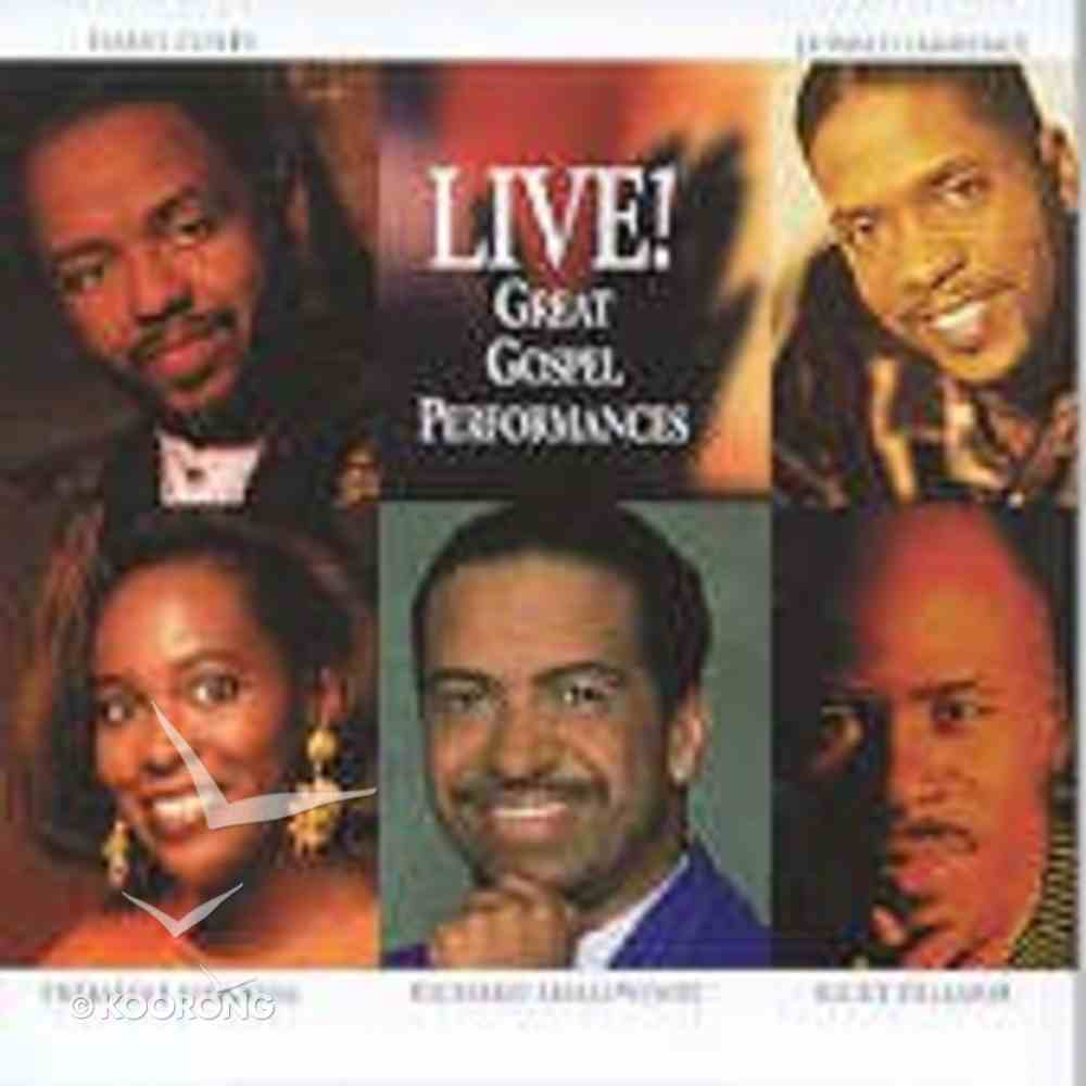 Live Great Gospel Performances CD
