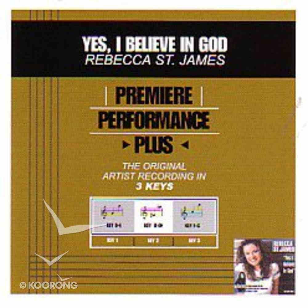 Yes I Believe in God (Accompaniment) CD