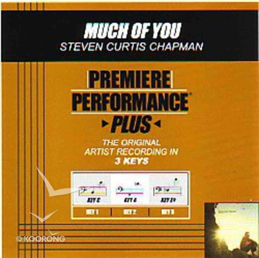 Much of You (Accompaniment) CD