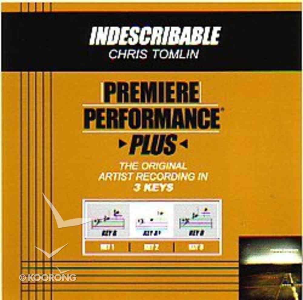 Indescribable (Accompaniment) CD