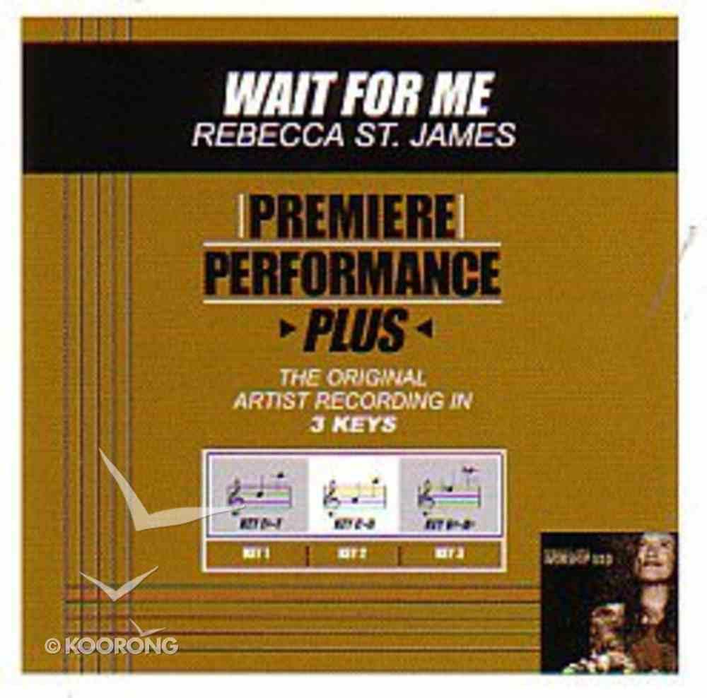 Wait For Me (Accompaniment) CD