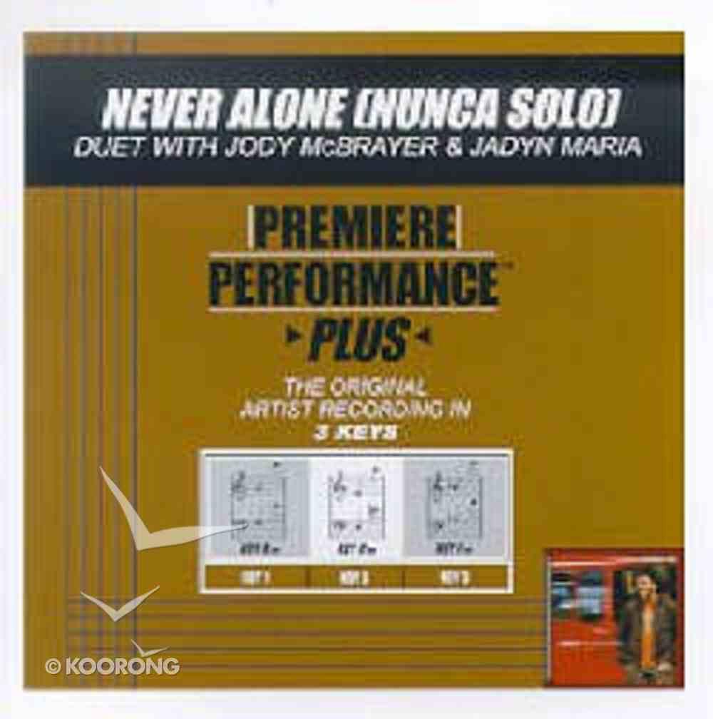 Never Alone (Accompaniment) CD