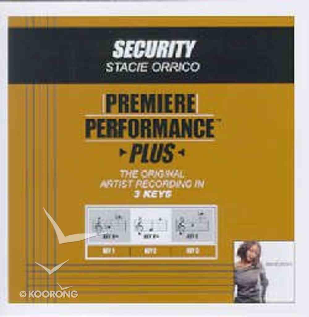 Security (Accompaniment) CD