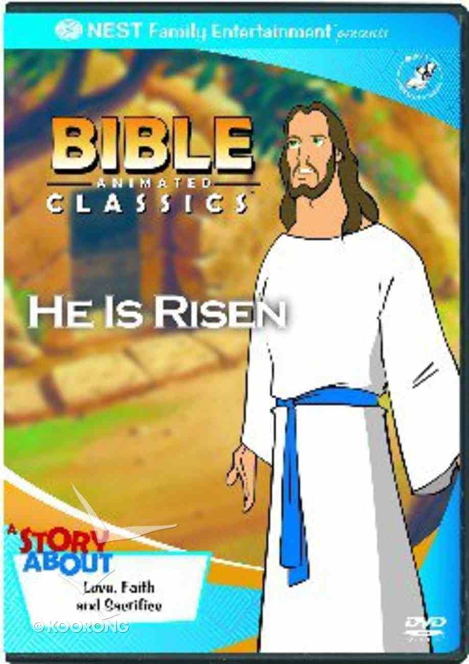 He is Risen (Bible Animated Classics Series) DVD