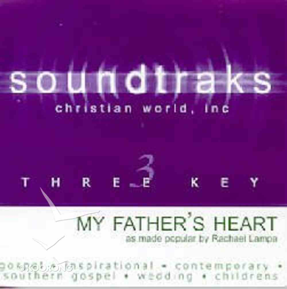 My Father's Heart (Accompaniment) CD