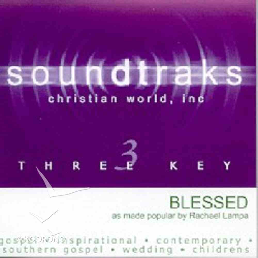 Blessed (Accompaniment) CD