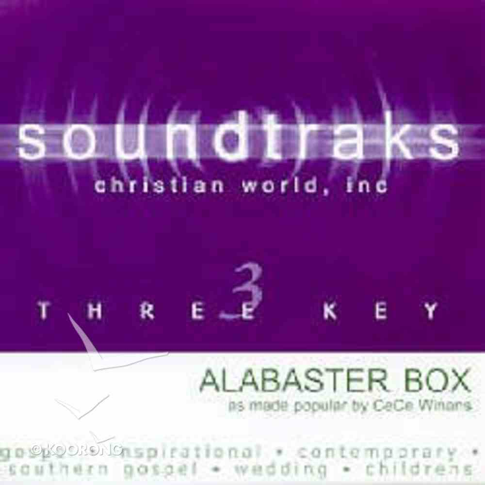 Alabaster Box (Accompaniment) CD
