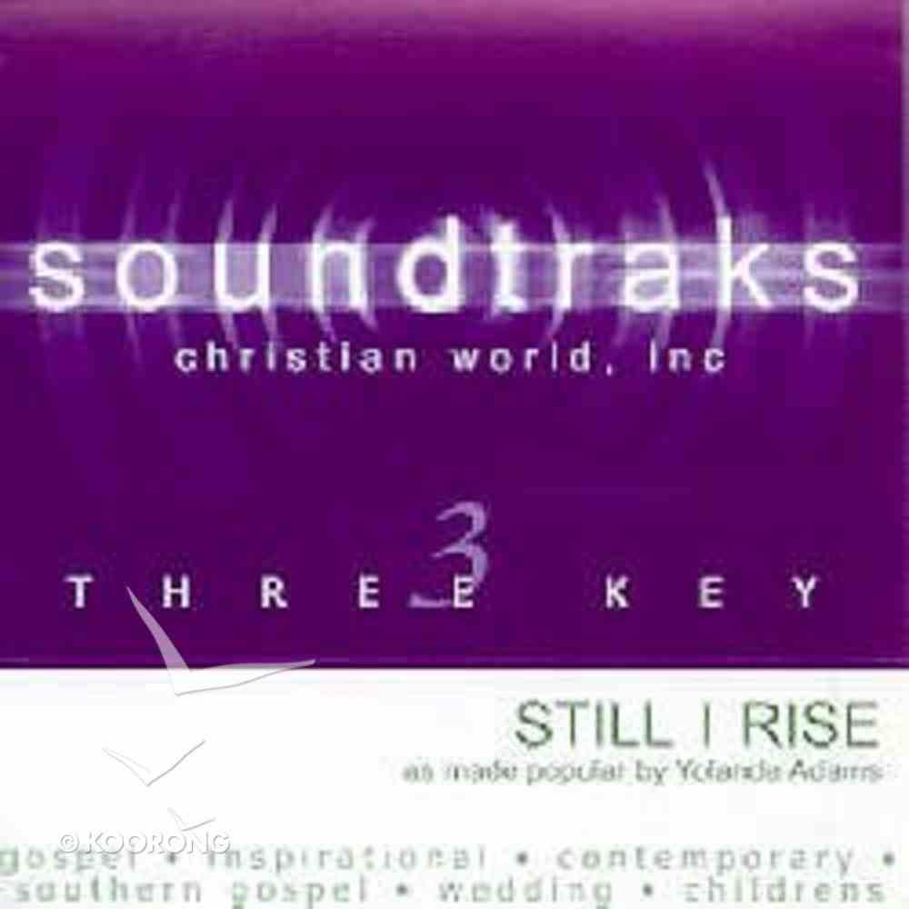 Still I Rise (Accompaniment) CD