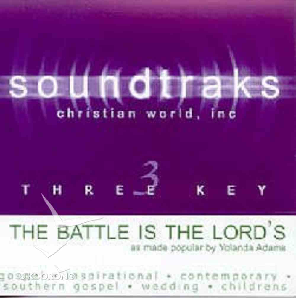 The Battle is the Lords (Accompaniment) CD