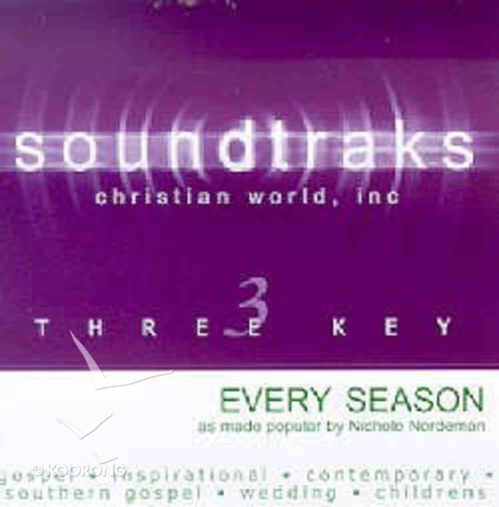 Every Season (Accompaniment) CD