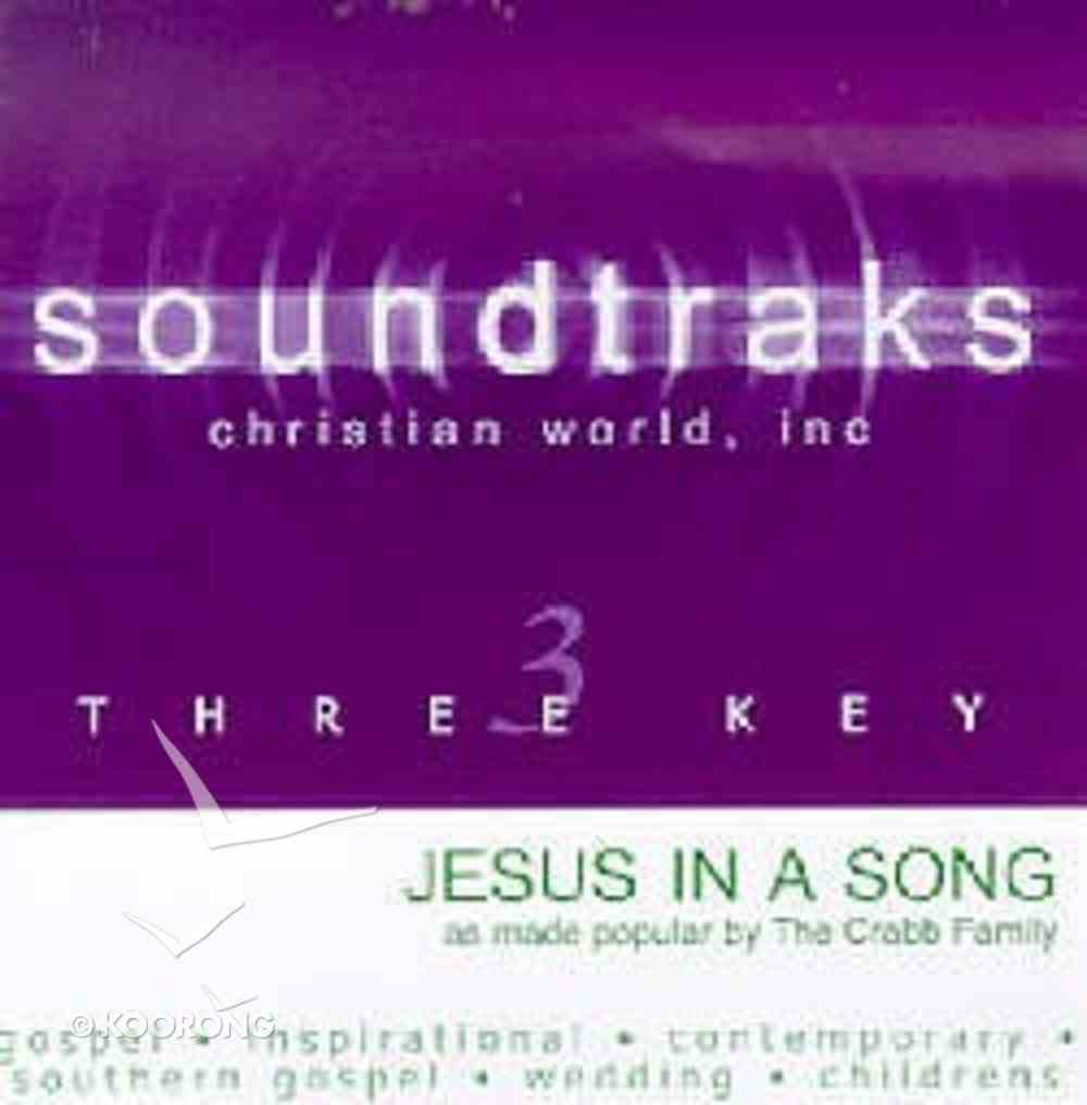 Jesus in a Song (Accompaniment) CD