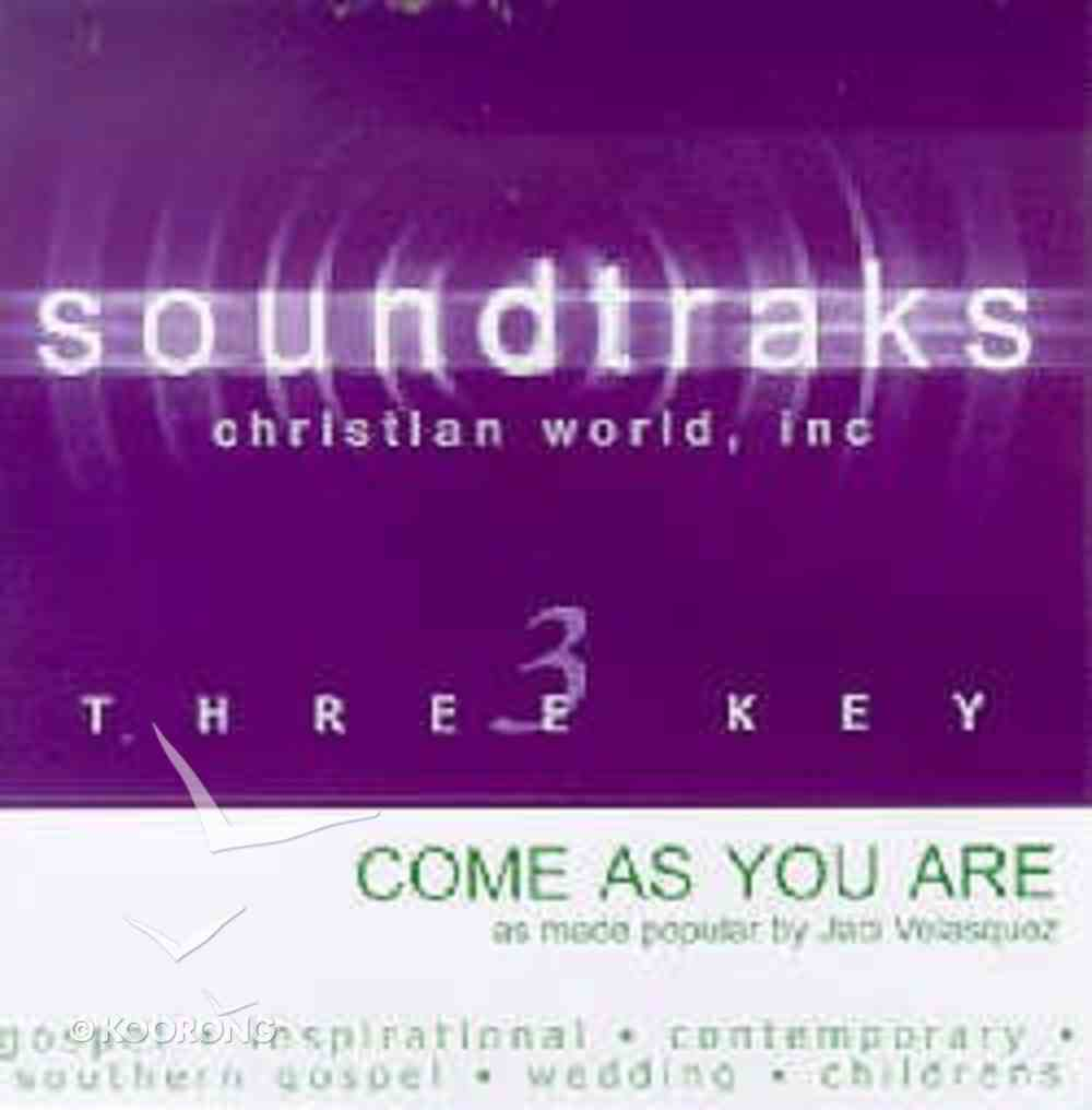Come as You Are (Accompaniment) CD