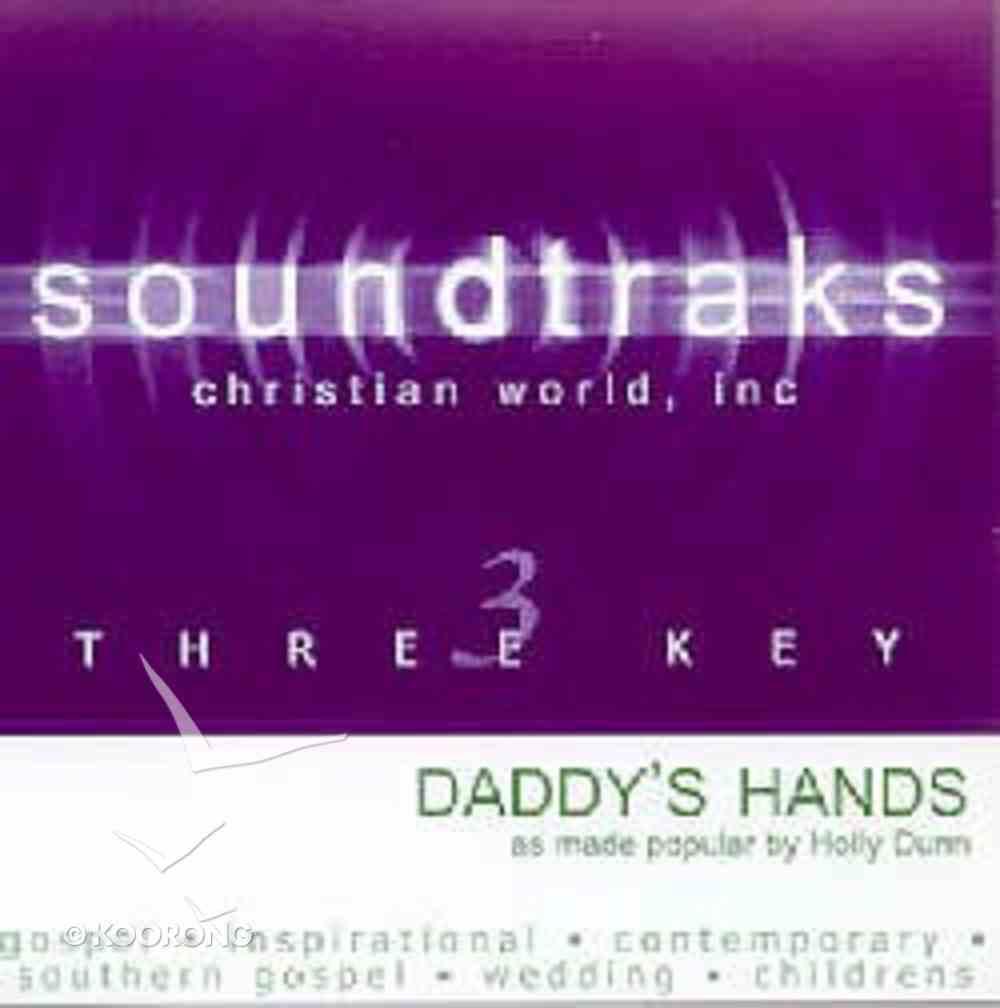 Daddy's Hands (Accompaniment) CD