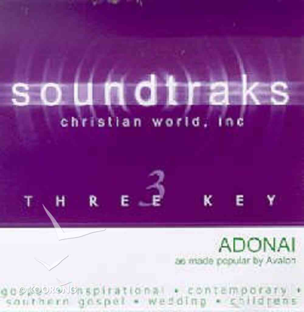 Adonai (Accompaniment) CD