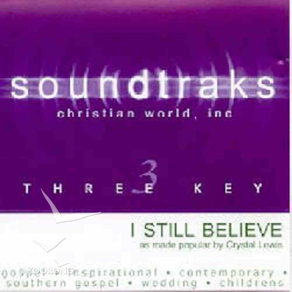 I Still Believe (Accompaniment) CD