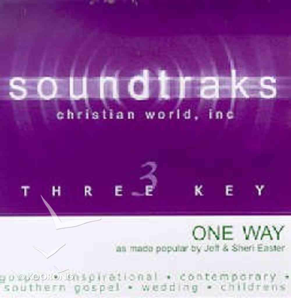One Way (Accompaniment) CD