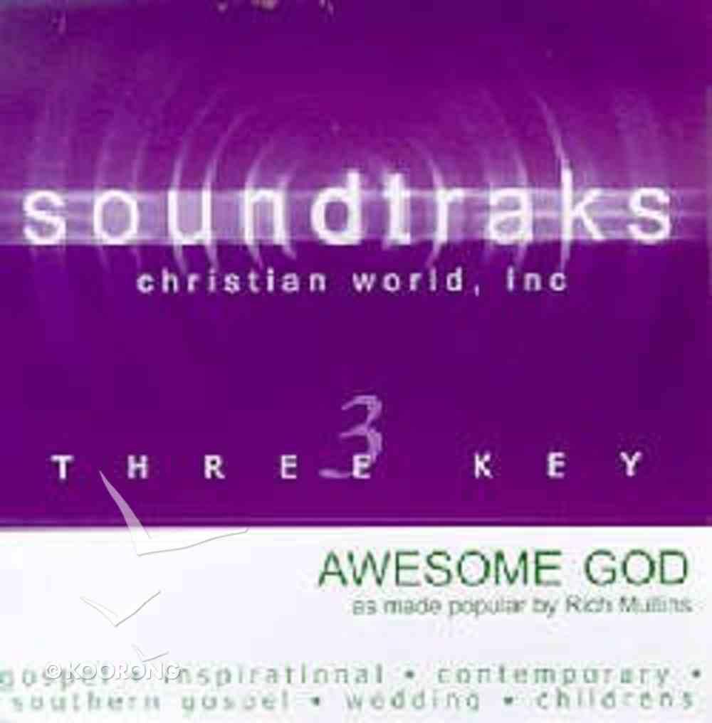 Awesome God (Accompaniment) CD