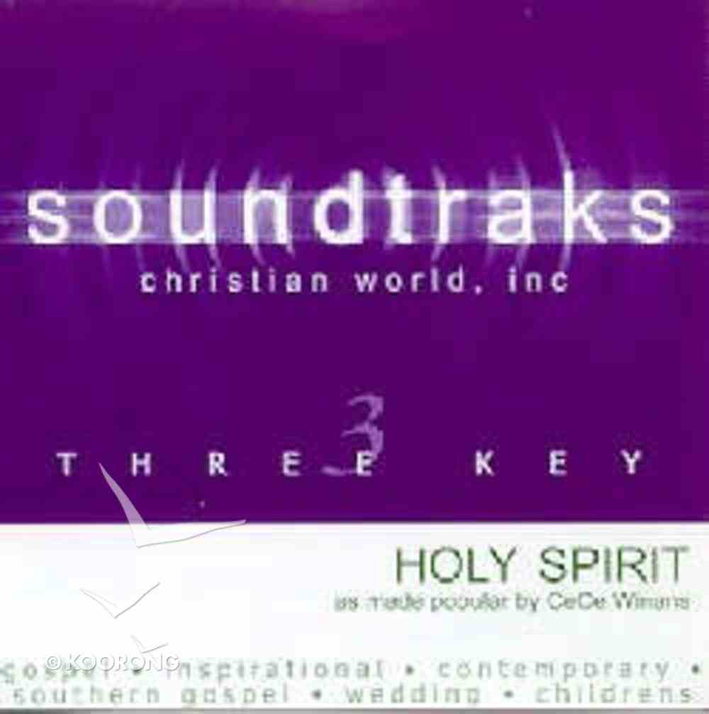 Holy Spirit (Accompaniment) CD