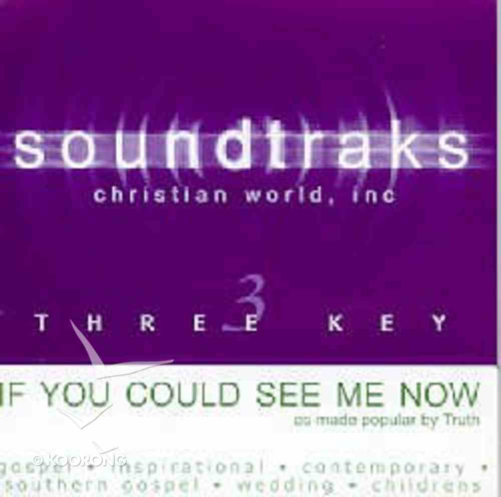If You Could See Me Now (Accompaniment) CD