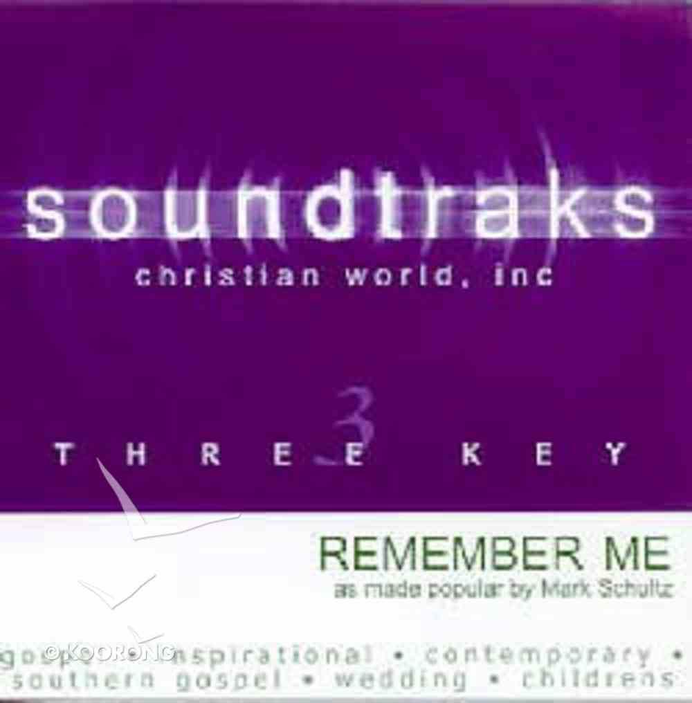 Remember Me (Accompaniment) CD