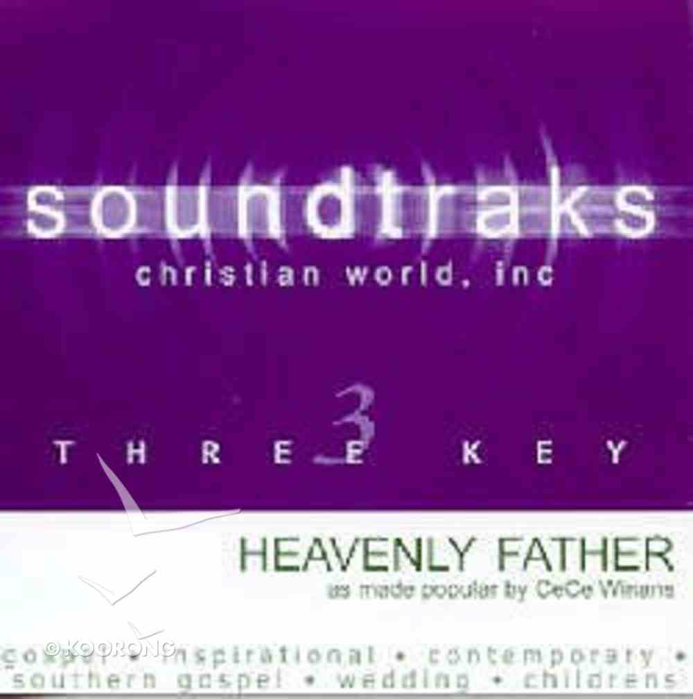 Heavenly Father (Accompaniment) CD