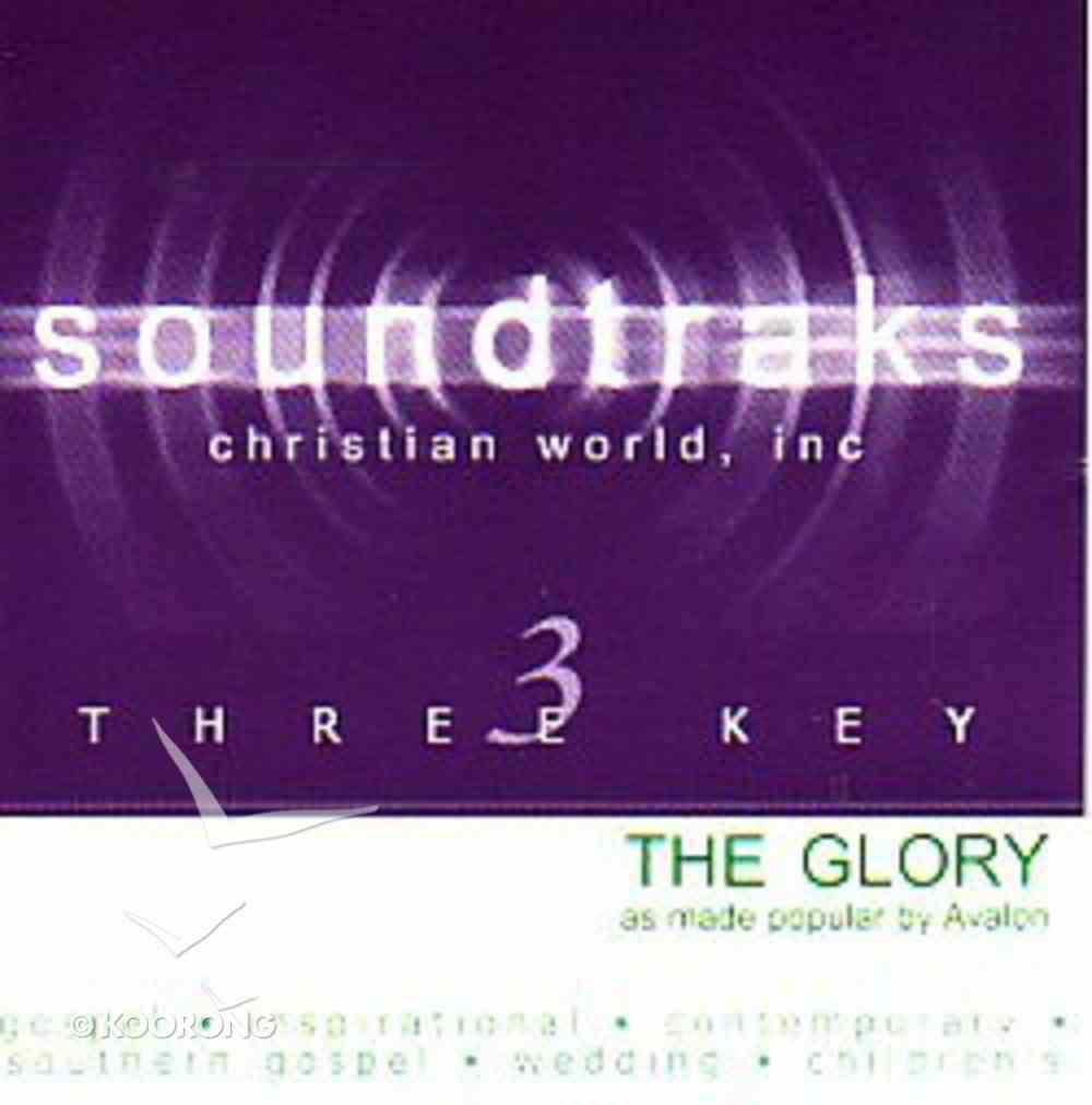 The Glory (Accompaniment) CD