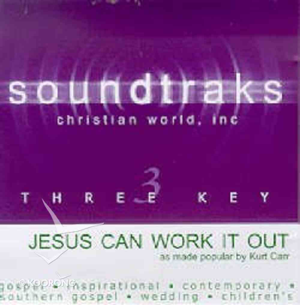 Jesus Can Work It Out (Accompaniment) CD