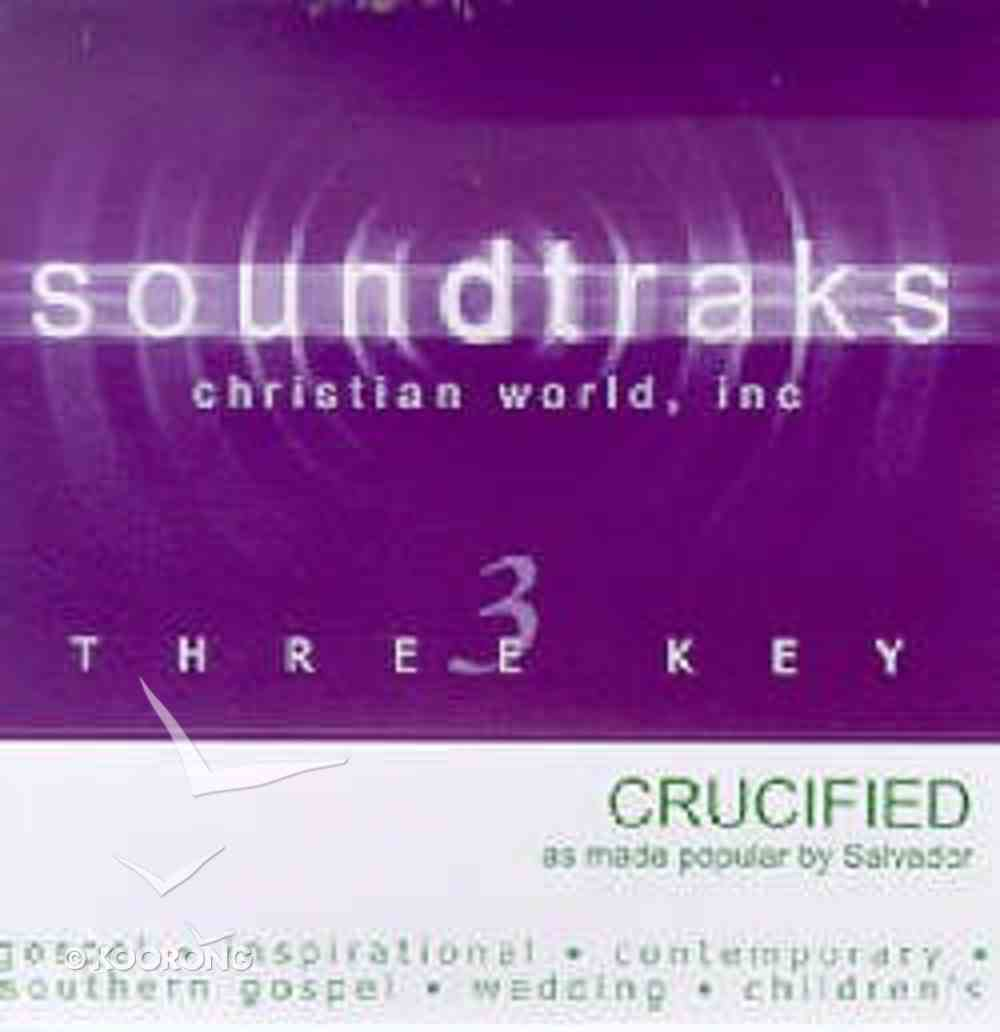 Crucified (Accompaniment) CD