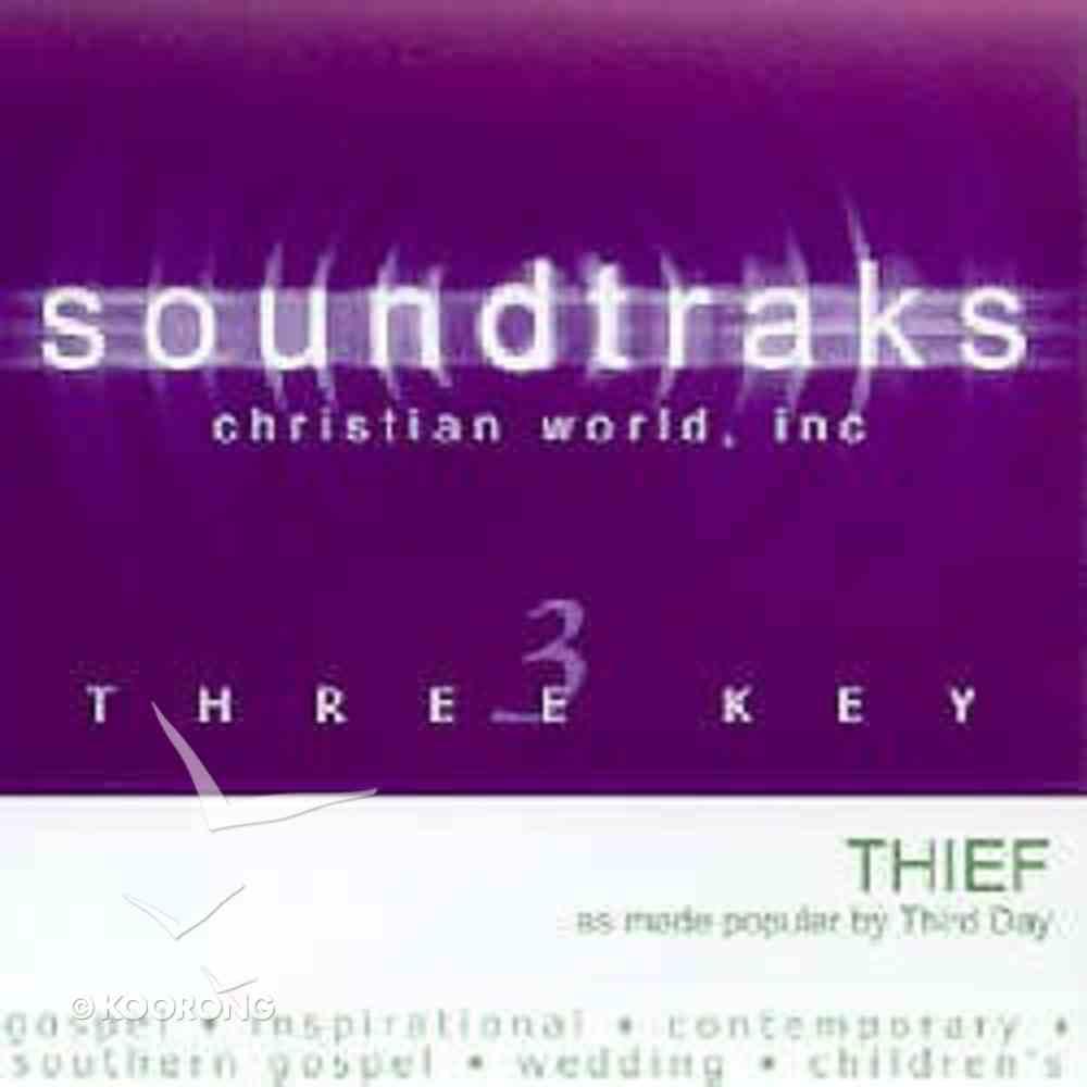 Thief (Accompaniment) CD