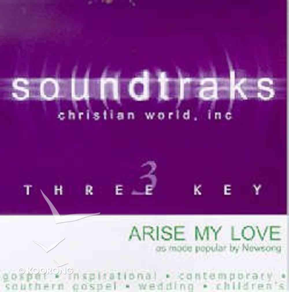 Arise My Love (Accompaniment) CD