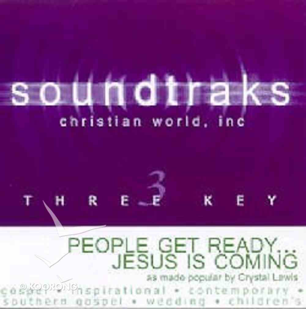People Get Ready Jesus is Coming (Accompaniment) CD