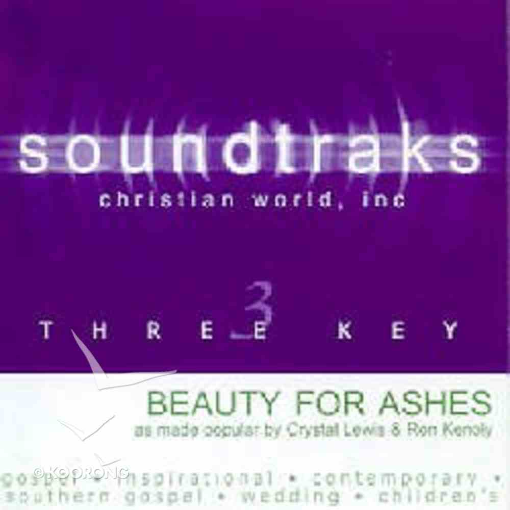 Beauty For Ashes (Accompaniment) CD
