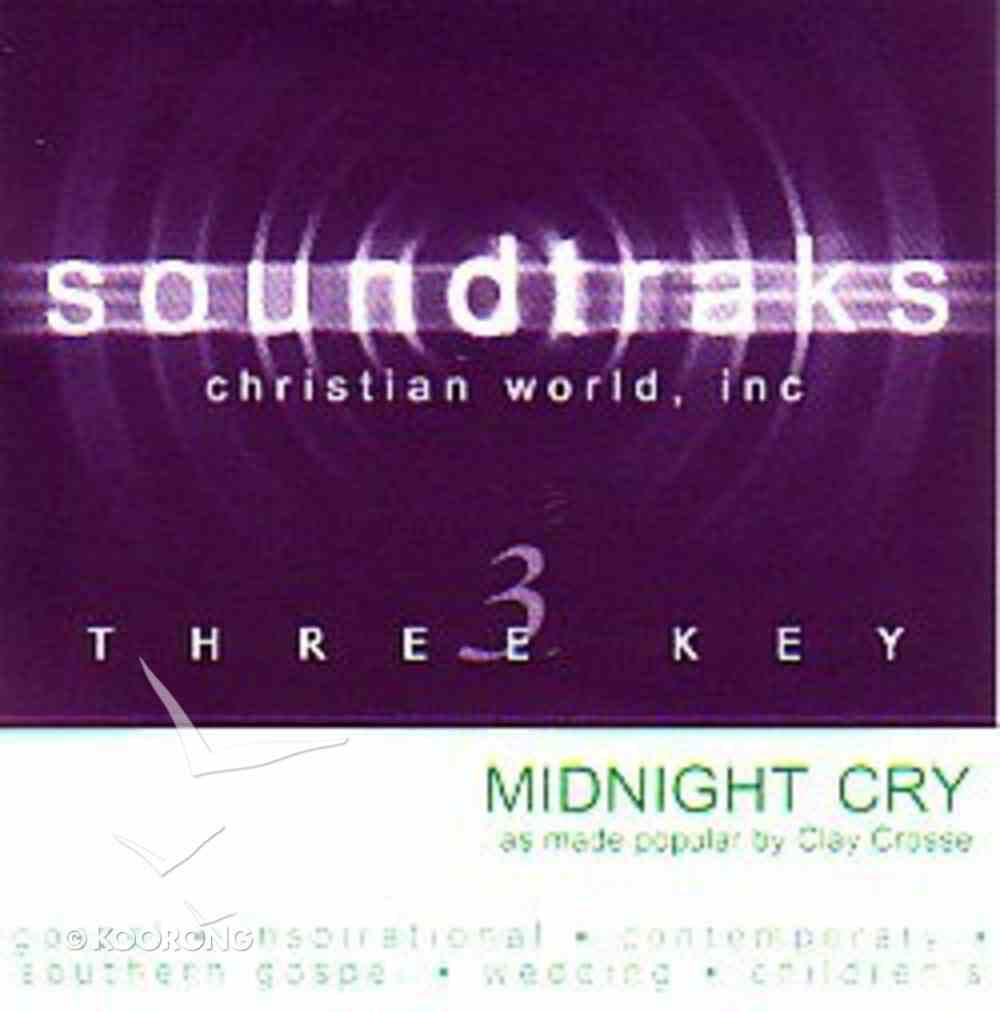 Midnight Cry (Accompaniment) CD
